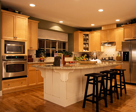 Kitchen remodeling mississippi jackson madison brandon for Kitchen remodeling companies